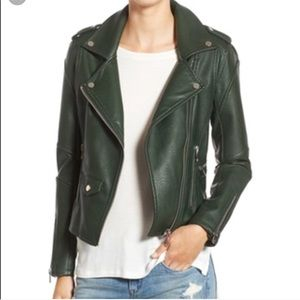Blank NYC Easy Rider Faux Leather Jacket XS